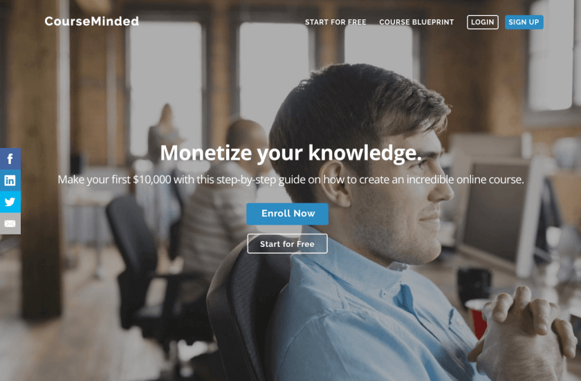 Build an online course and start teaching people