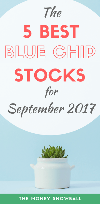 5 best dividend paying blue chip stocks for September 2017
