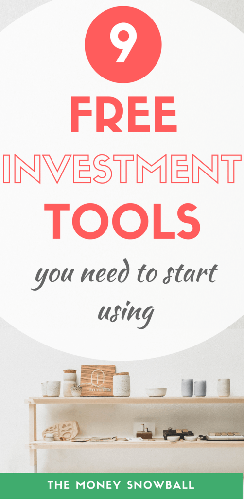 9 free investment tools you need to start using