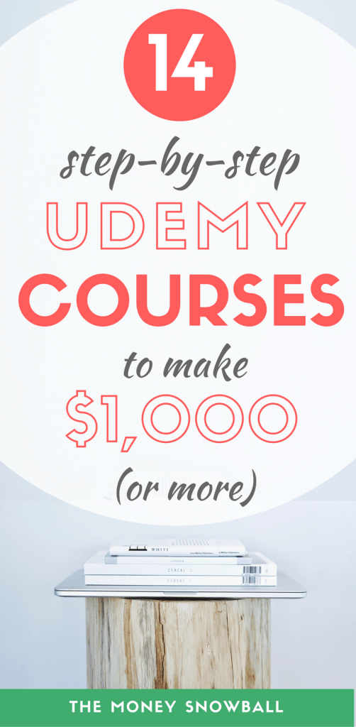 Udemy Courses: The 14 Best to Make $1,000 (Or More) - The