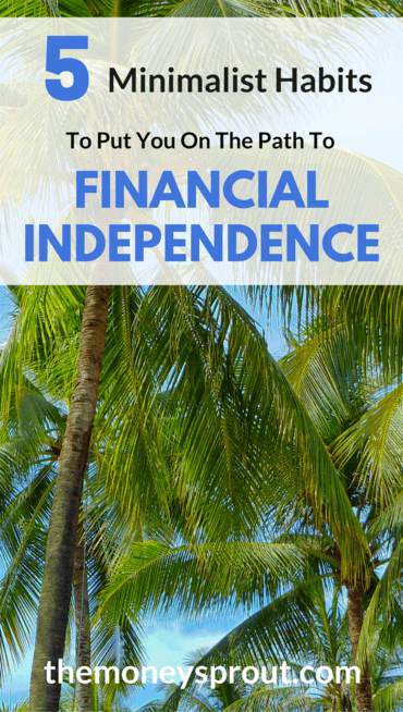 Here are 5 Minimalist Habits we are Using to Help Reach Financial Independence