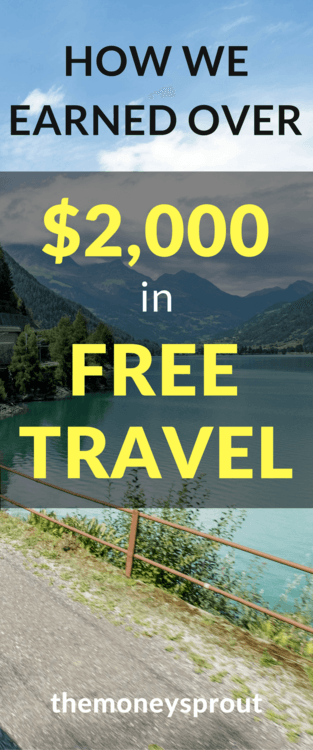 How We Earned Over $2,000 in Free Travel from One Rewards Card