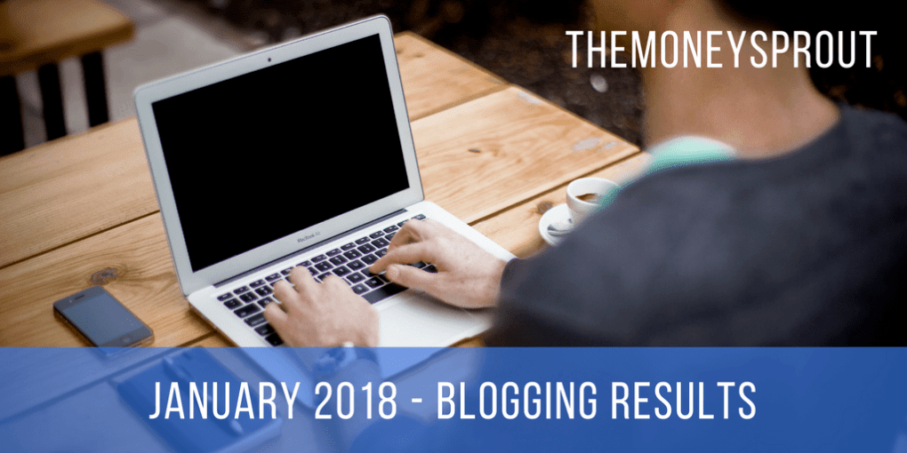 January 2018 Blogging Income Results