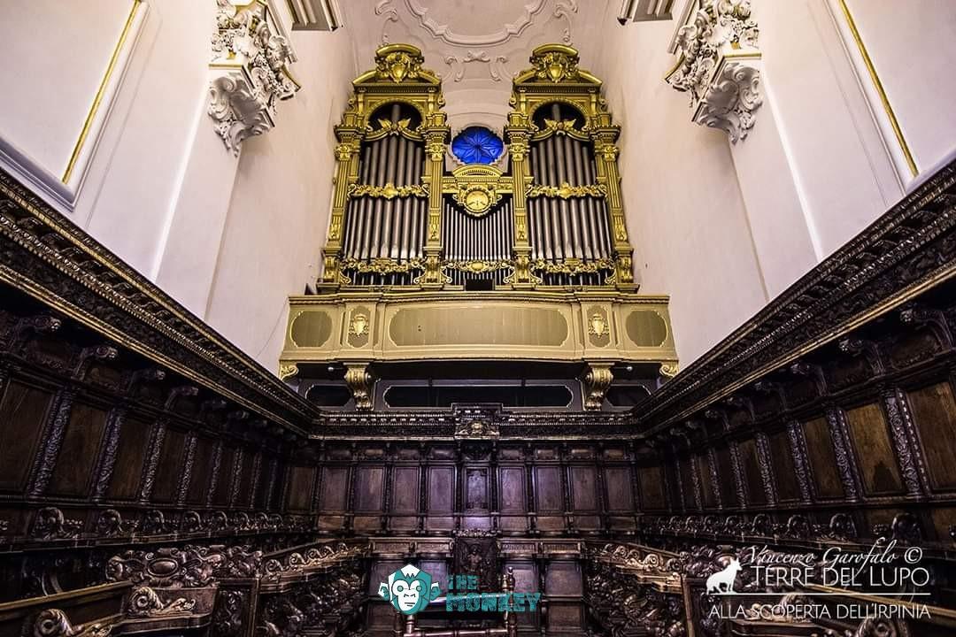 Il coro ligneo dell'Abbazia di Montevergine