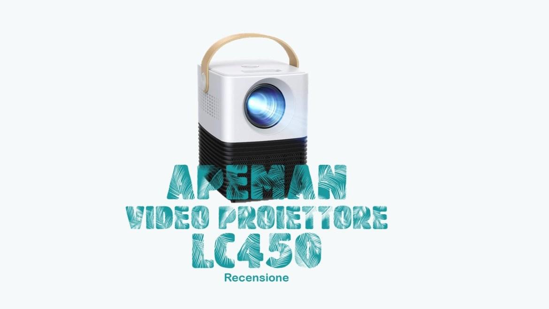 Mini Proiettore Apeman LC450: che sorpresa! | Recensione