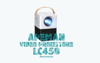 Apeman Proiettore LC450 recensione