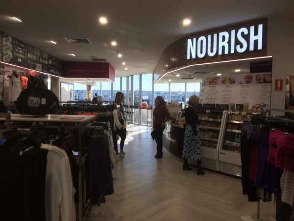 And Below Is There Anything Quite Like The Nourish Cafe Lorna Jane Active Living Room In Airport World I Dont Think So