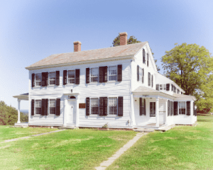 Dwight L. Moody's birthplace in Northfield Massachusetts at The Moody Center