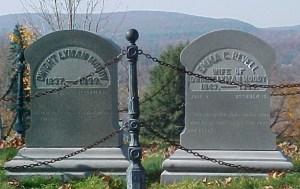 Gravesite of DL Moody history
