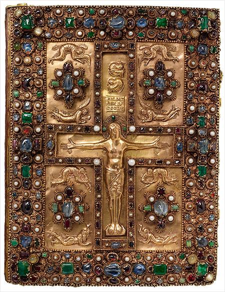 Magnificent Gems Medieval Treasure Bindings The Morgan