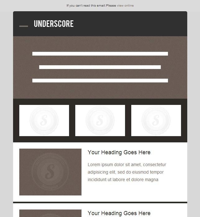 visuel creation newsletter