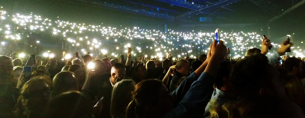 photo foule concert