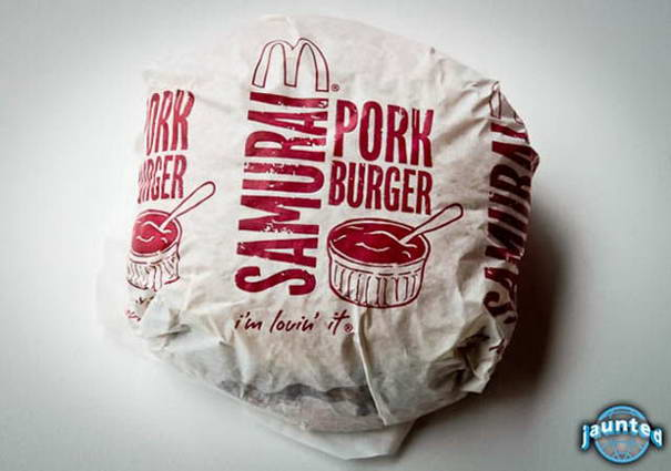 McSamurai Pork Burger - Thailand