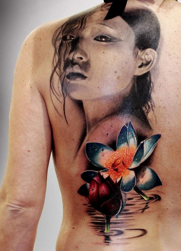 Realistic Tattoos By Silvano Fiato (4)