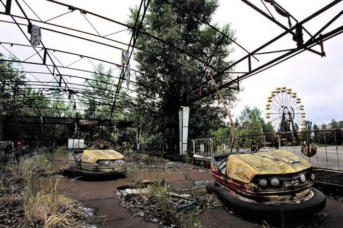 Lugares Abandonados Pripyat - Ucrânia