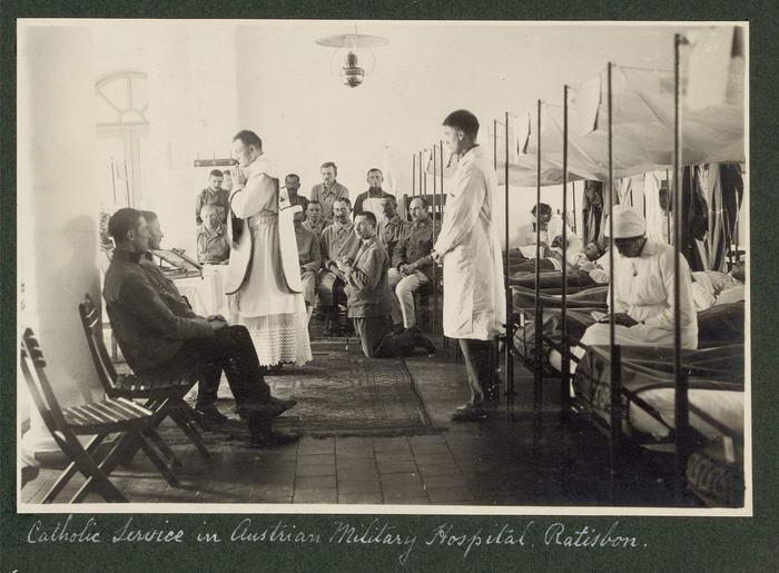 Hospital militar austríaco WWI