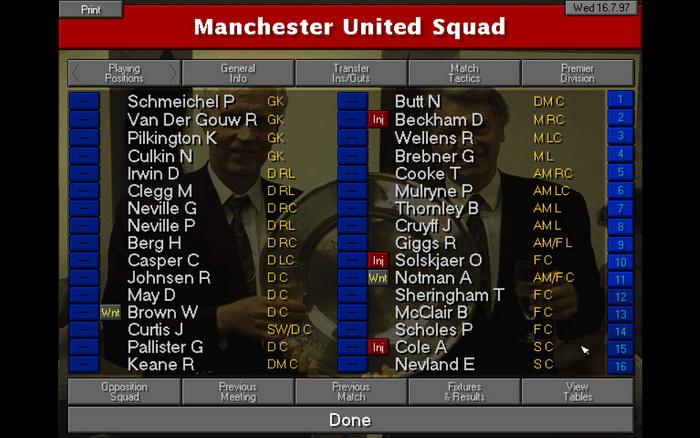 Gerente de campeonato 97