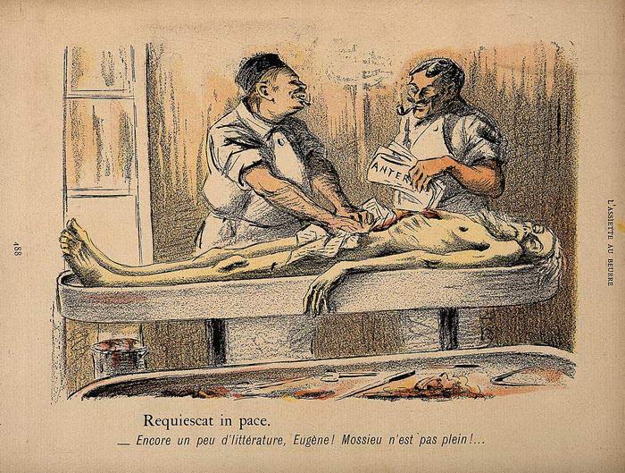 Medicina de cadáver