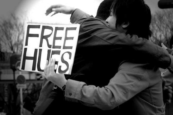 Abraços de graça