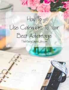 How To Use Calendars To Your Best Advantage