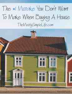 buying a house mistakes