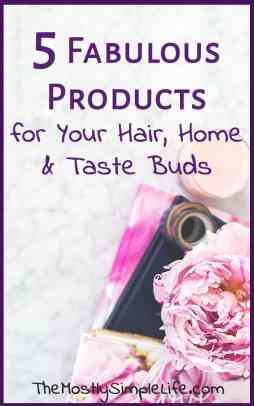 5 Fabulous products for your hair, home, and taste buds | Winter 2017 Favorite Things | Argan oil review | Best frugal cookbook | #1 dark chocolate |