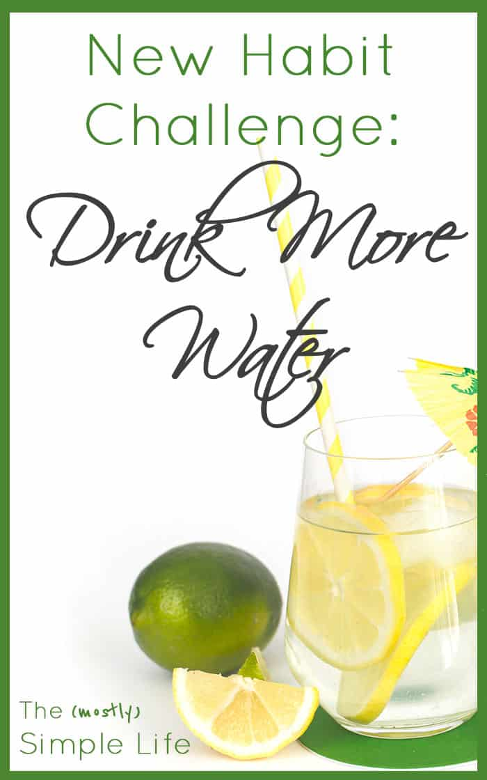 New Habit Challenge: Drink More Water | Water Drinking Goal | Follow Along with this challenge!