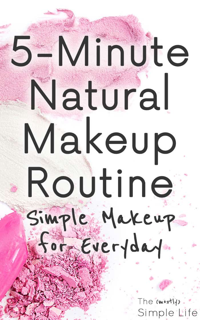 5 Minute Natural and Simple Makeup Routine aka: Simple Makeup for Super Pale People | Everyday Easy Makeup