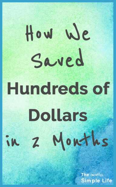 How to Save Hundreds of Dollars | We saved a bunch of money after we bought our house with these special deals and savings ideas! | Money saving tips