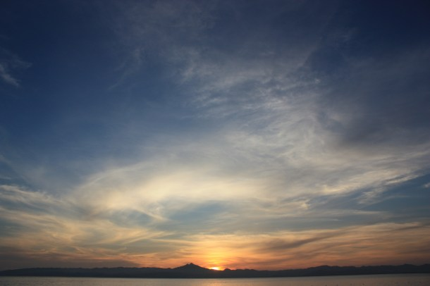 Sunset from a small resort in the city of Ormoc, Leyte 2009