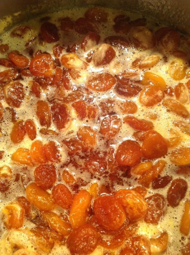 Apricot and Rum Jam