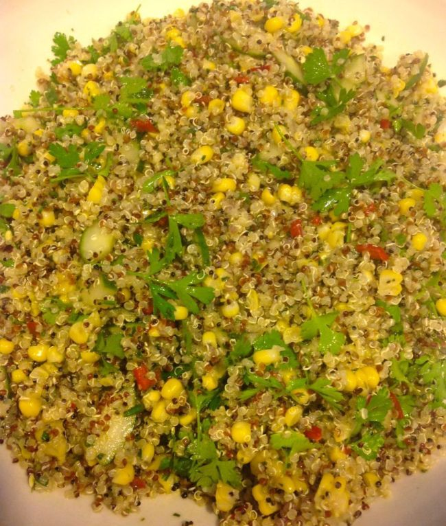 Quinoa and Corn Salad