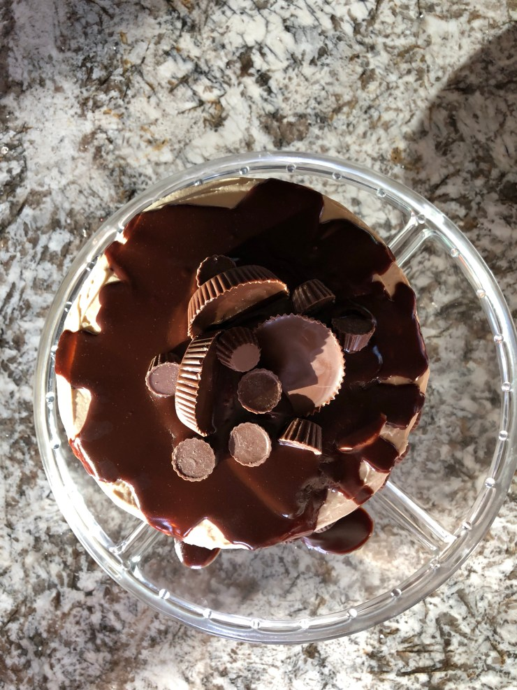 The Motherly Escape Reese's Peanut Butter Cup Inspired by Cakes by Courtney