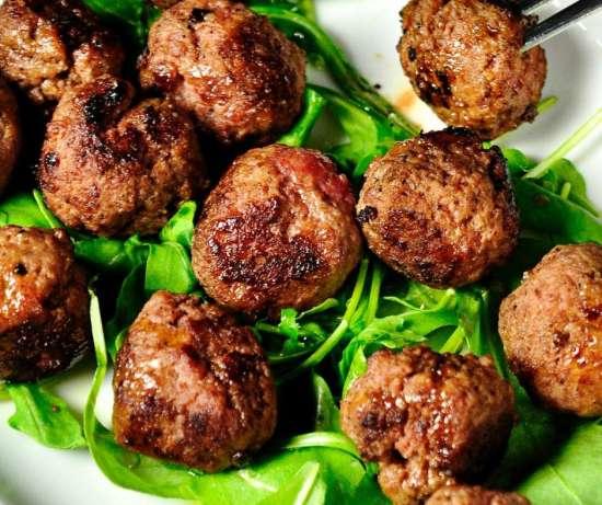 Greek Meatballs with Tzatziki