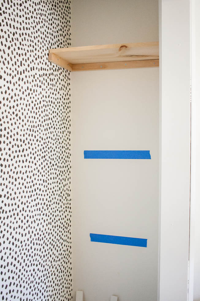 Built In Closet Shelving