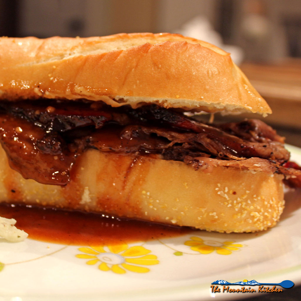 Gruyère On the Toasted Beef Brisket Sandwiches From Now On