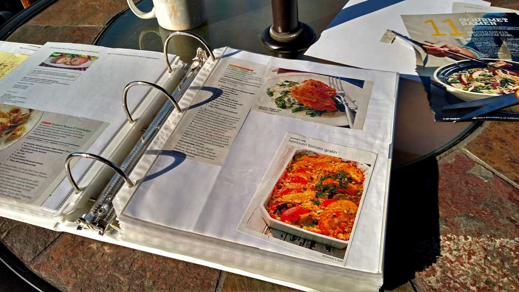 I encourage you to make a recipe binder. My recipe binders are probably the most useful and organizational tools I have ever made for my kitchen. | TheMountainKitchen.com