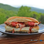 These Chicken Parmesan Sub Sandwiches are inspired by the classic Italian dish, with crispy chicken, tomato sauce and melted mozzarella cheese on a sub roll | TheMountainKitchen.com