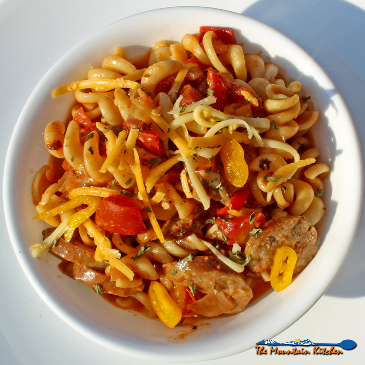 Cajun Pasta With Andouille Sausage