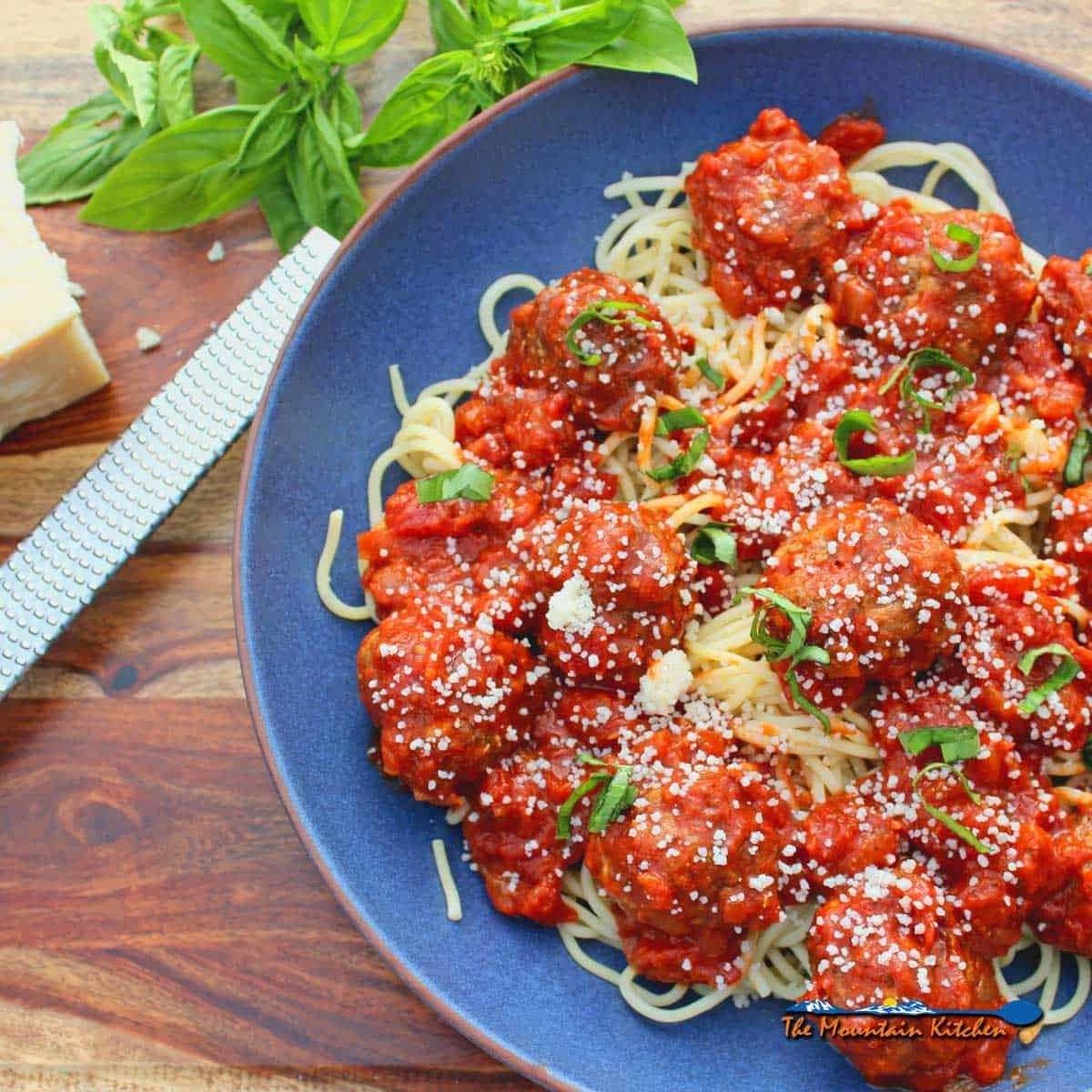 Easy Italian Meatballs