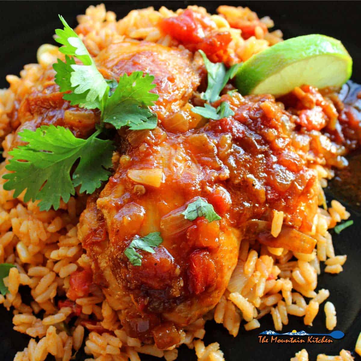 Mexican Deviled Chicken   Pollo a la Diabla
