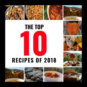 The Top 10 Recipes of 2018