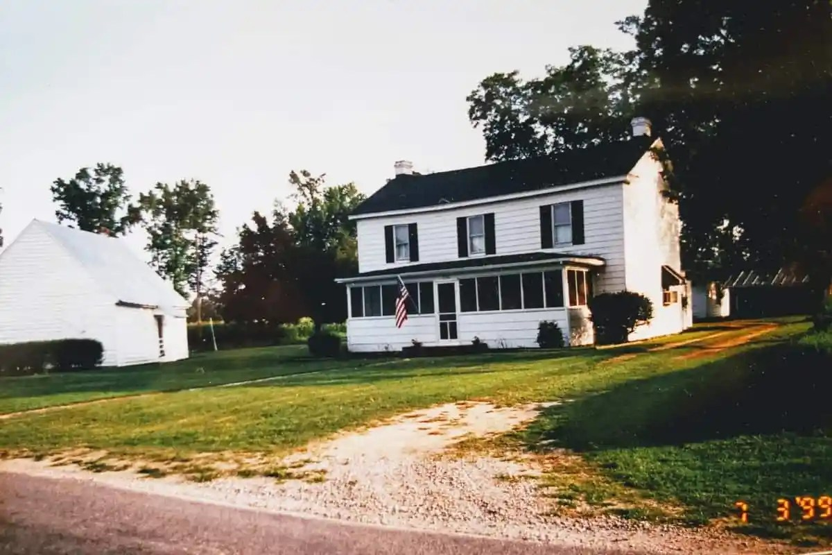 my grandparents farm house