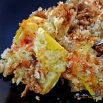 Squash casserole is a great southern side dish for any holiday, potluck or get together all year round. It feeds a crowd and it will disappear fast!