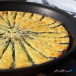 Celebrate spring with this crustless asparagus ricotta quiche! Gluten-Free and Low-Carb, this quiche is full of ricotta cheeses and farm fresh asparagus.