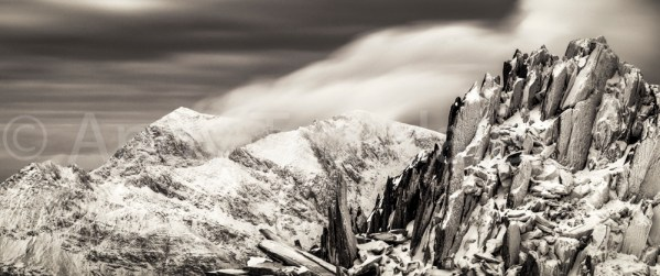 Snowdon from Castell y Gwynt