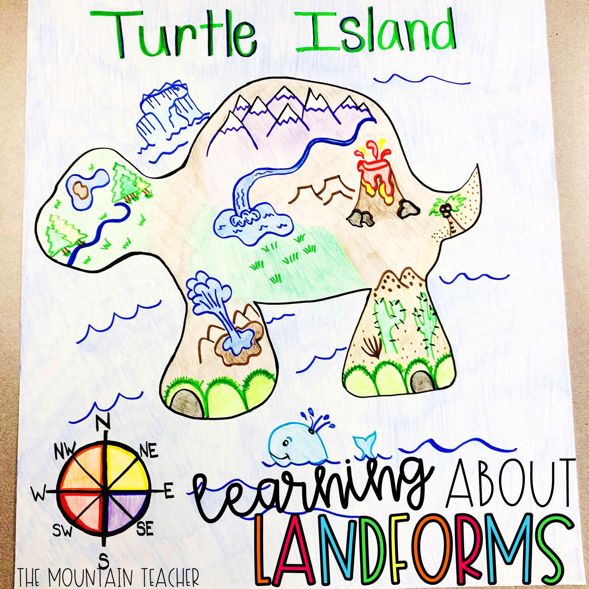 Landform Island The Mountain Teacher