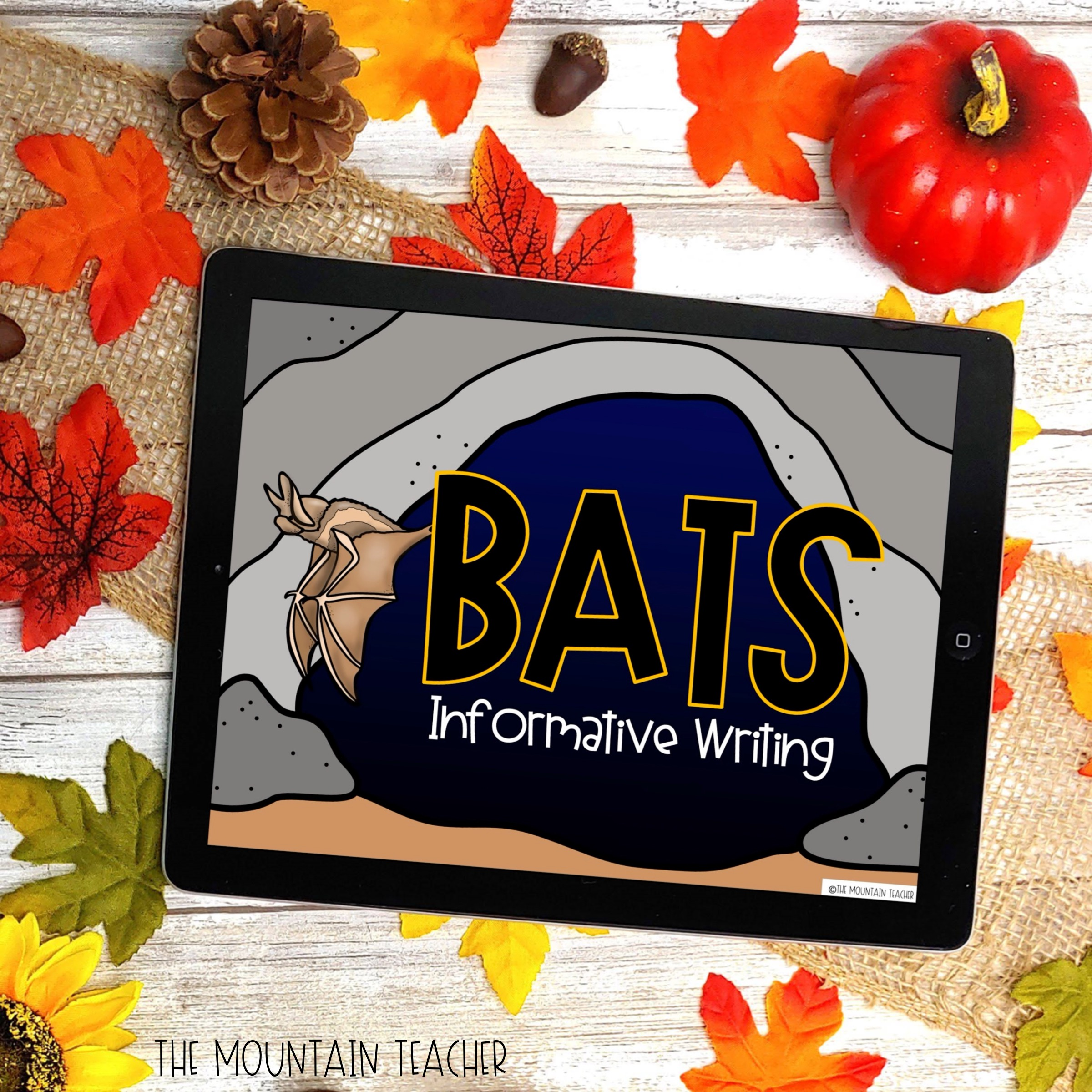 Digital Bat Writing Project for Google Classroom
