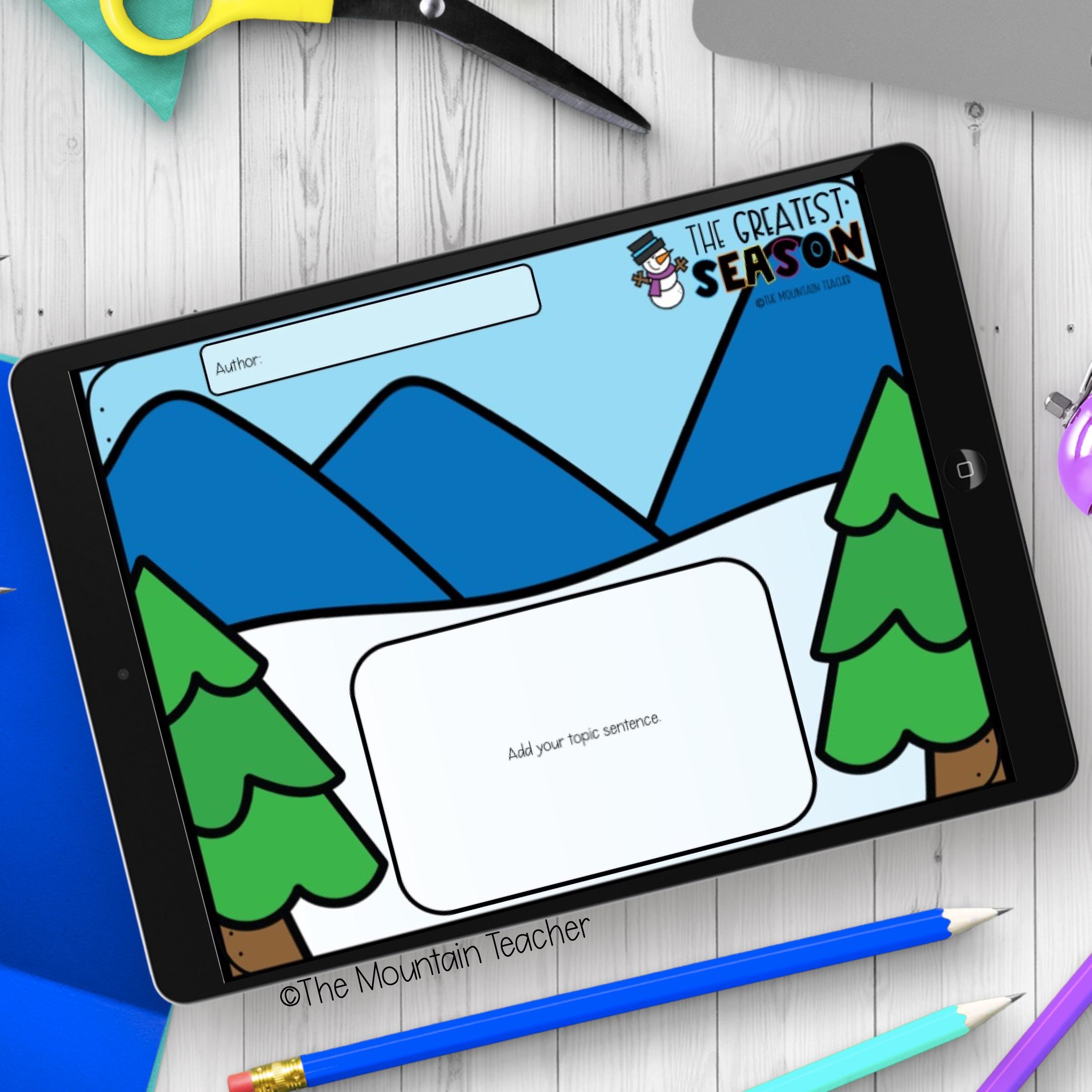 Digital Writing for Elementary School Example 404