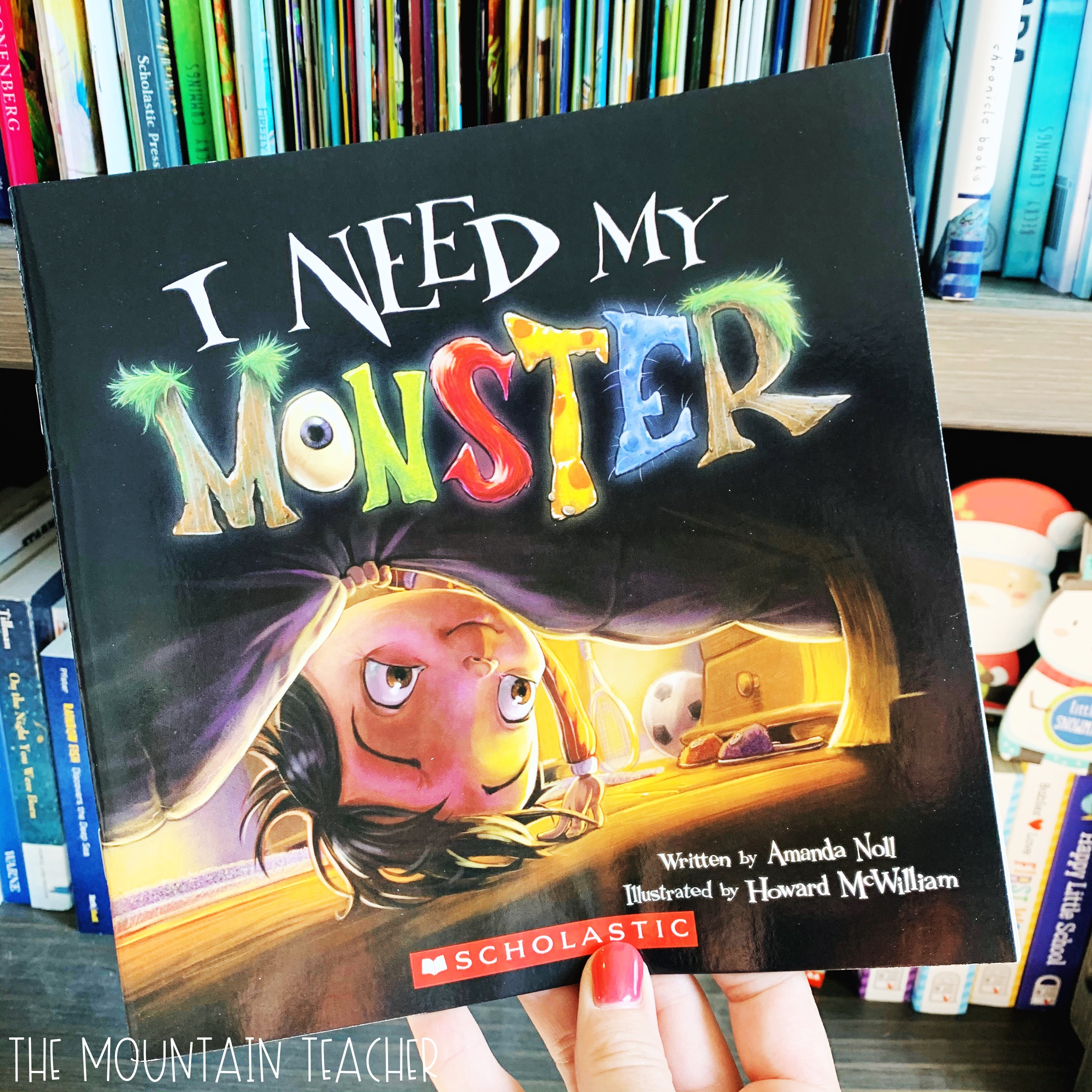 Halloween Read Aloud for Classrooms: I Need My Monster